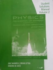 Student Solutions Manual for Katz's Physics for Scientists and Engineers : Found