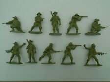 Airfix 1/32 WWII Australian Infantry x 10 Figures (Vintage)