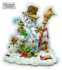 CHERISHED TEDDIES 2011 FIGURINE, WINTER, SIGNING EVENT LE, 600 PCS, 4023740, NIB
