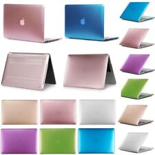 2019 Rubberized Metallic Hard Case Cover For Apple MacBook air Pro 11 13 15 inch