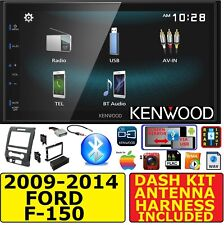 09-14 FORD F150 JVC-KENWOOD BLUETOOTH USB SCREEN MIRROR CAR RADIO STEREO PACKAGE