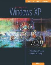 NEW Computer BOOK Microsoft WINDOWS XP, BRIEF Ed, Timothy O'Leary, 2003 in color
