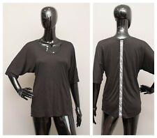 VICTORIA'S SECRET Sequins Blouse Black Batwing Top M