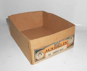 Halber Originalkarton Märklin 10  3620 a1/2 Leerkarton Made in Germany Vorkrieg