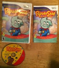 Pajama Sam: Don't Fear the Dark (Nintendo Wii, 2008) Complete
