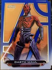 2017 Star Wars Galactic Files Reborn #ACW-3 Darth Maul Rogue Sith BLUE