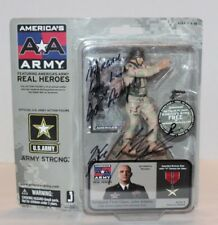 Autographed America's Army Heroes Sergeant First Class John Adams Action Figure