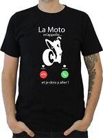 T-SHIRT HOMME LA MOTO M'APPELLE...