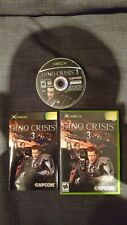 Dino Crisis 3 for XBOX Original CIB  NTSC fantastic condition