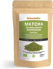 Japanese Organic Matcha Green Tea Powder [ Premium Grade ] 100g. Tea Produced in