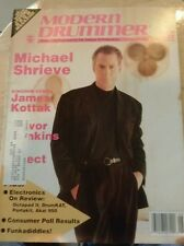 Modern Drummer Magazine back issue MICHAEL SHRIEVE JUNE 1989