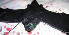 "Hanging Rubber Bat Halloween Prop Decoration Party Favors 15"" New"