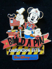 DISNEY WDW BUILD A PIN CONSTRUCTION SITE MICKEY 2002 PIN