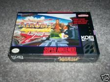 Aerobiz Supersonic Super Nintendo SNES Brand New Sealed