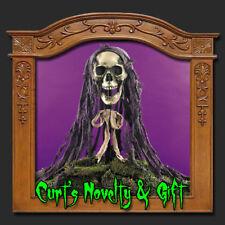 SKULL YARD STAKE Halloween Haunted House Prop 5608