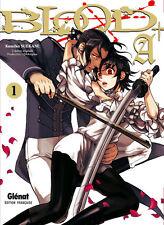 BLOOD + A tome 1 SUEKANE manga shonen en français