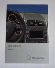 Owner's Manual Supplement Mercedes Benz R-Class W251 Comand APS 10/2010