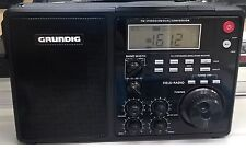 Grundig S450Dlx Portable Am / Fm / Shortwave Field Radio Works great