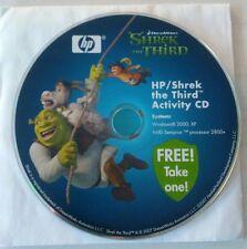 HP SHREK THE THIRD ACTIVITY CD SOFTWARE FOR WINDOWS 2000 XP