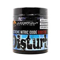 Juggernaut Disturb Extreme PreWorkout Pump Non Stim NitricOxide redcon big noise