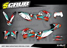 KTM EXC Grafik 125 200 250 300 450 530 2008-2011 '08 '09 '10 11 Dekor-Set SCRUB