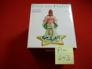 COLLECTIBLE FITZ AND FLOYD MOON BEAMS CANDLEHOLDER CANDLE HOLDER RETIRED? EXC.
