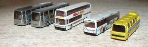 K23  Siku Herpa  u.a. 5 Reisebusse Spur  HO