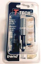 "Trend T-Tech 1/2"" TT/48 - Biscuit Joiner 4mm Router Cutter Bit"