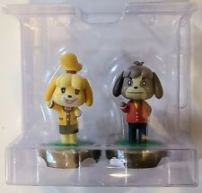 Isabelle & Digby Amiibo Figures NEW Animal Crossing Nintendo 3DS Wii U Switch