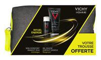 Vichy Homme Hydra Mag C + 2-in-1 Moisturiser 50 ml & Shower Gel 200ml -Men -Bag!