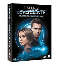 SAGA DIVERGENTE COMPLETA DVD DIVERGENTE INSURGENTE LEAL NUEVO ( SIN ABRIR )