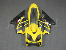 Injection Mold Yellow Fairing Fit for Honda 2004-2007 CBR600 F4I 2005 2006 e024