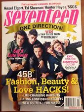 Seventeen One Direction 5SOS Ed Sheeran Ansel Elgort Nov 2014 FREE SHIPPING!