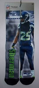 Seattle Seahawks Richard Sherman Socks