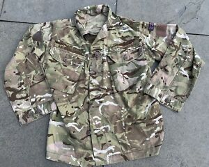 Superb Rare Afghan Issue British Army S95 UOR MTP Shirt With Arabic Name Tapes
