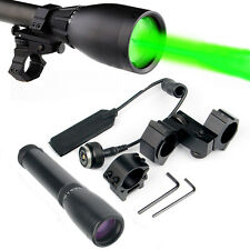Tactical ND3X30 Green Laser Flashlight Night Vision Long Distance Torch Hunting