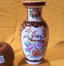Bezaubernde chinesische handbemalte Porzellan Vase Zhongguo Zhi Zao 15cm