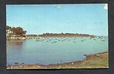 View of Norwalk Yacht Club, Norwalk, Conn. Stamp/Postmark - 1958