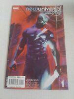 New Universal Shockfront #1 July 2008 Marvel Comics Ellis Kurth Hennessy Chuckry