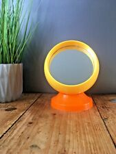 70S MID CENTURY SPACE AGE ROUND BALL TRAVEL MIRROR VANITY DRESSING TABLE MAKE UP