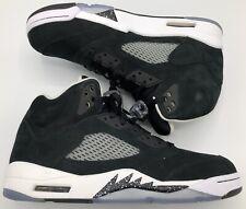 Jordan Retro V 5 Oreo Black White Grey Metallic Grape Fear 136027-035 Sz 11.5
