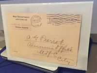 1918 War Department Military Draft Classification Postcards Chicago rare ooak