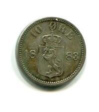 NORWAY 1883 10 ORE (04)