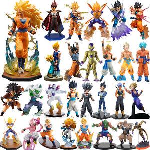 PVC Action Figure Dragon Ball Z Super Saiyan Son Goku Vegeta DBZ Figurine Toys