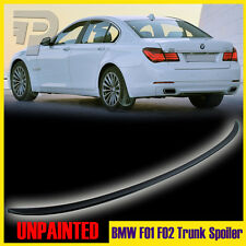 Unpainted BMW 7-Series F01-F02 4DR Sedan M3-Type Rear Trunk Spoiler 09-15