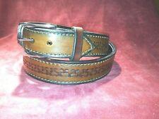"Thick Leather Gun or Work Belt 1.5"""