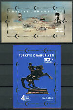 Turkey Military Stamps 2019 MNH Turkish War of Independence Horses 2x 1v M/S