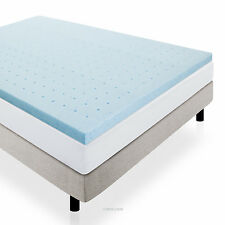 "2"" Ventilated Gel Memory Foam Mattress Topper by LUCID® - Queen"
