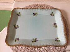 Small Vintage Crown Ducal Floral Pottery Tray Circa 1950