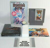 Castlevania III: Dracula's Curse NES Nintendo Complete CIB Authentic & Tested!